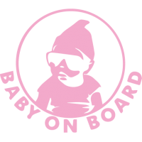 Sticker Baby On Board 2