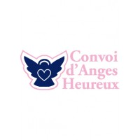 Sticker anges heureux