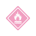 Sticker Flammable