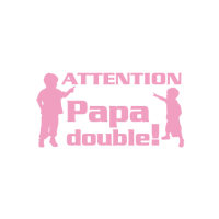 Sticker Papa double